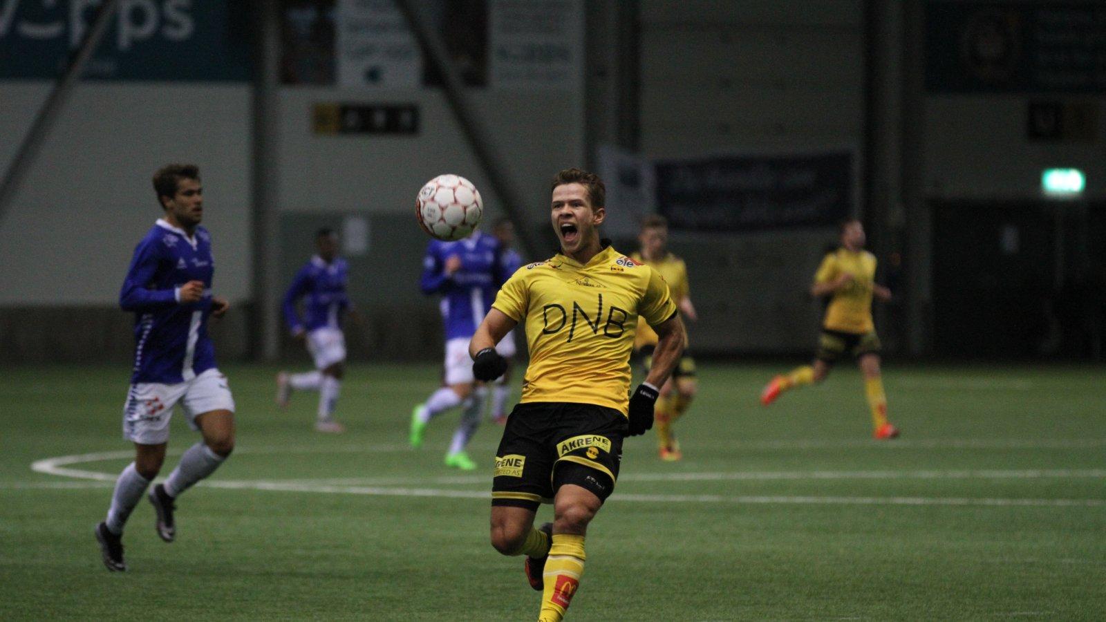 Bajram Ajeti mot Sarpsborg 08