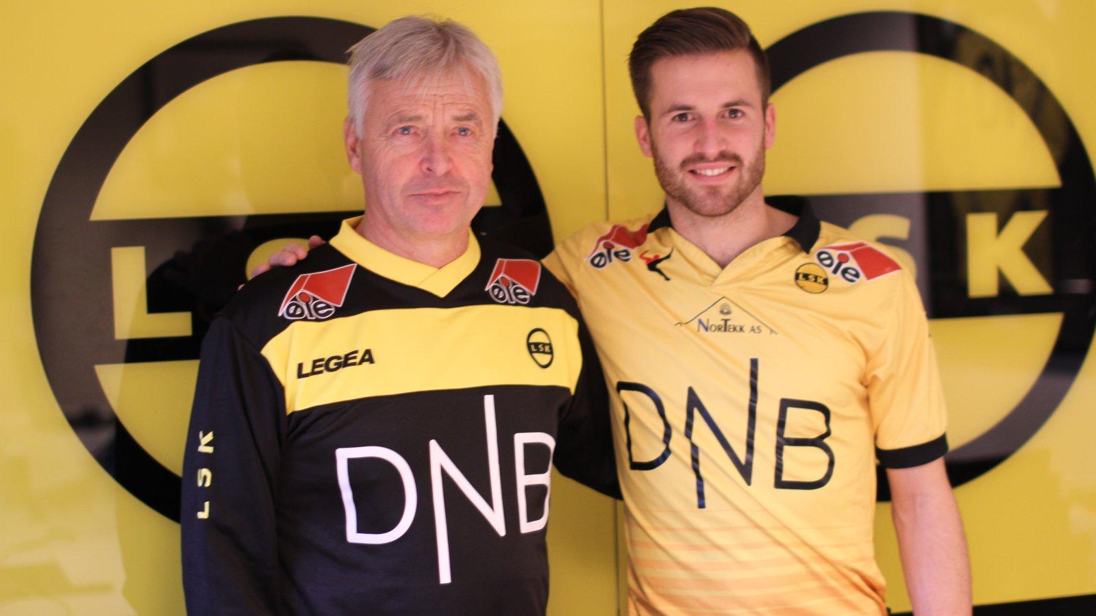 Arne Erlandsen og Aleksander Melgalvis
