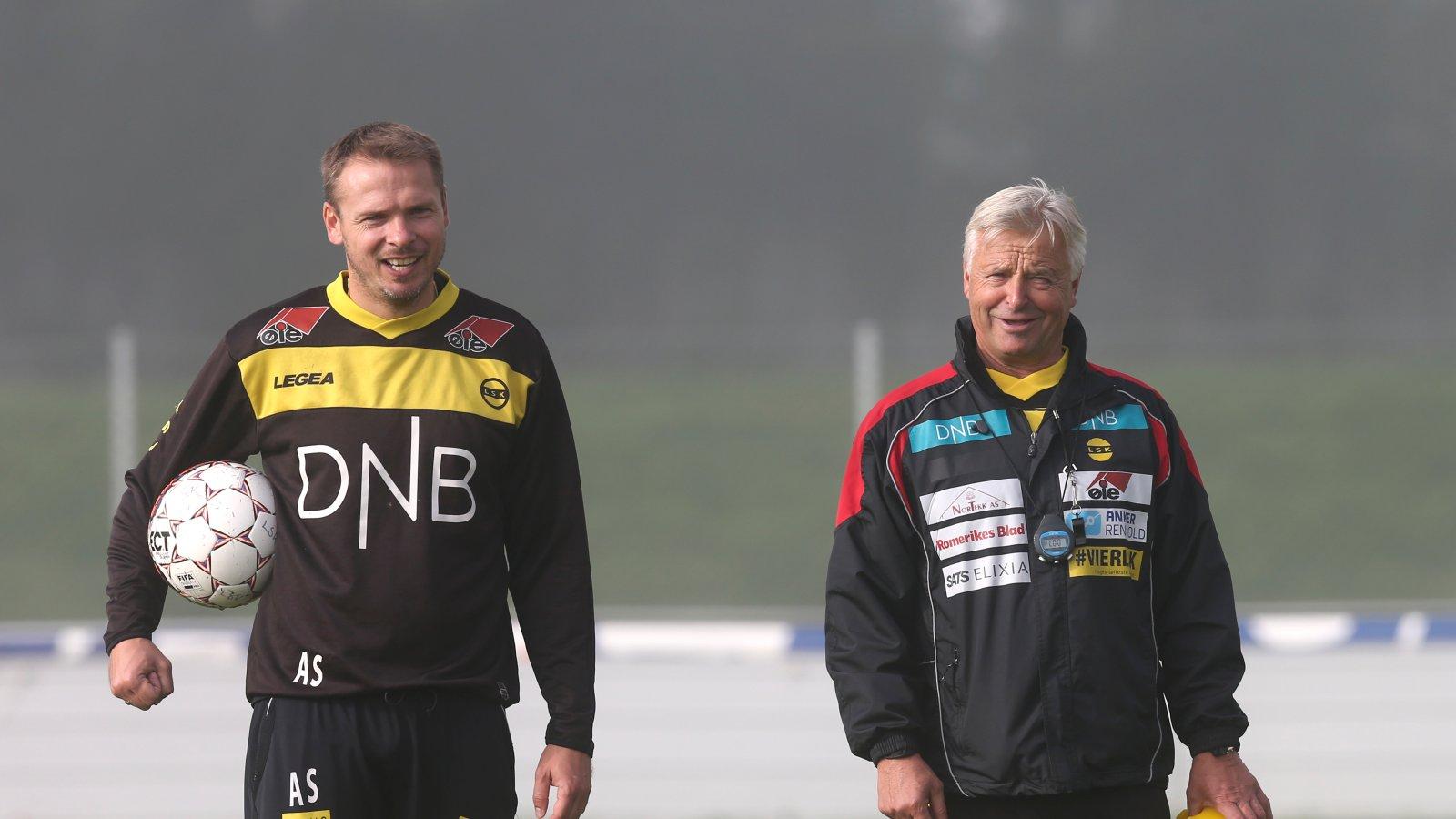 Arild Sundgot og Arne Erlandsen