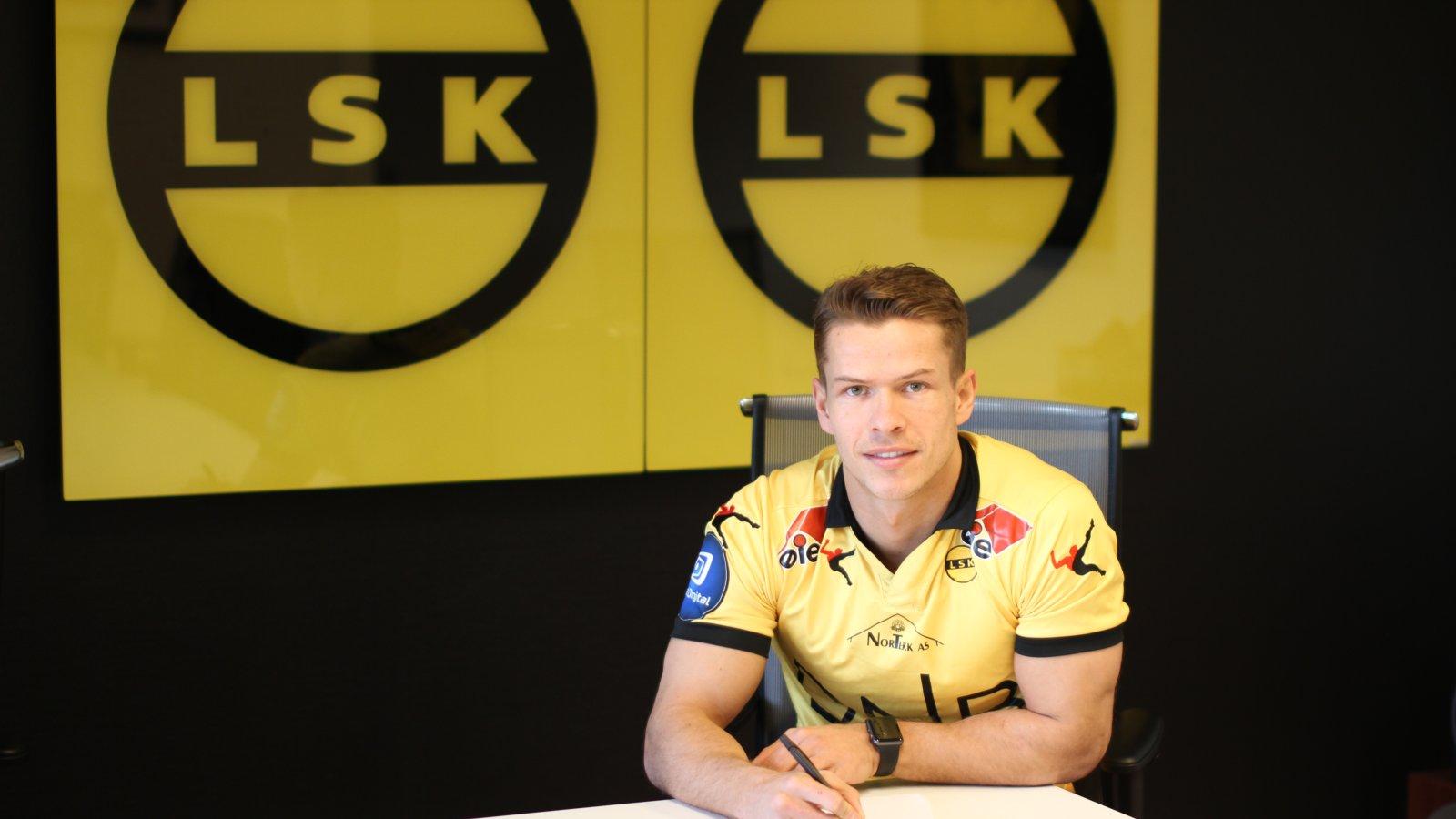 Bajram Ajeti signerte en ett års kontrakt med Lillestrøm Sportsklubb