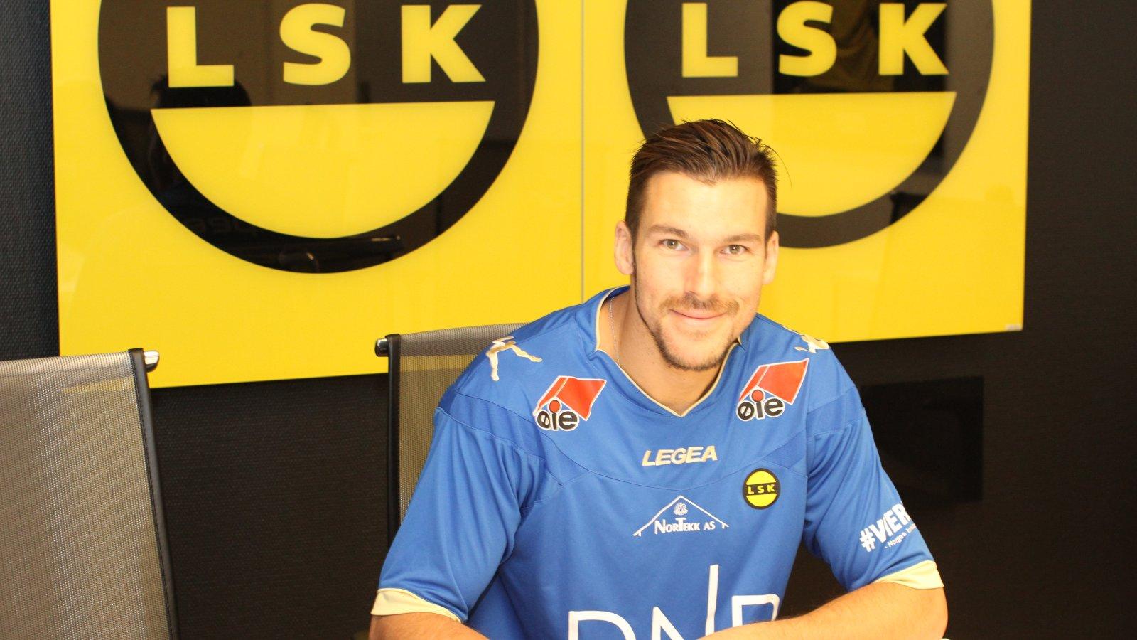 Daniel Fernandes signerte for Lillestrøm SPortsklubb