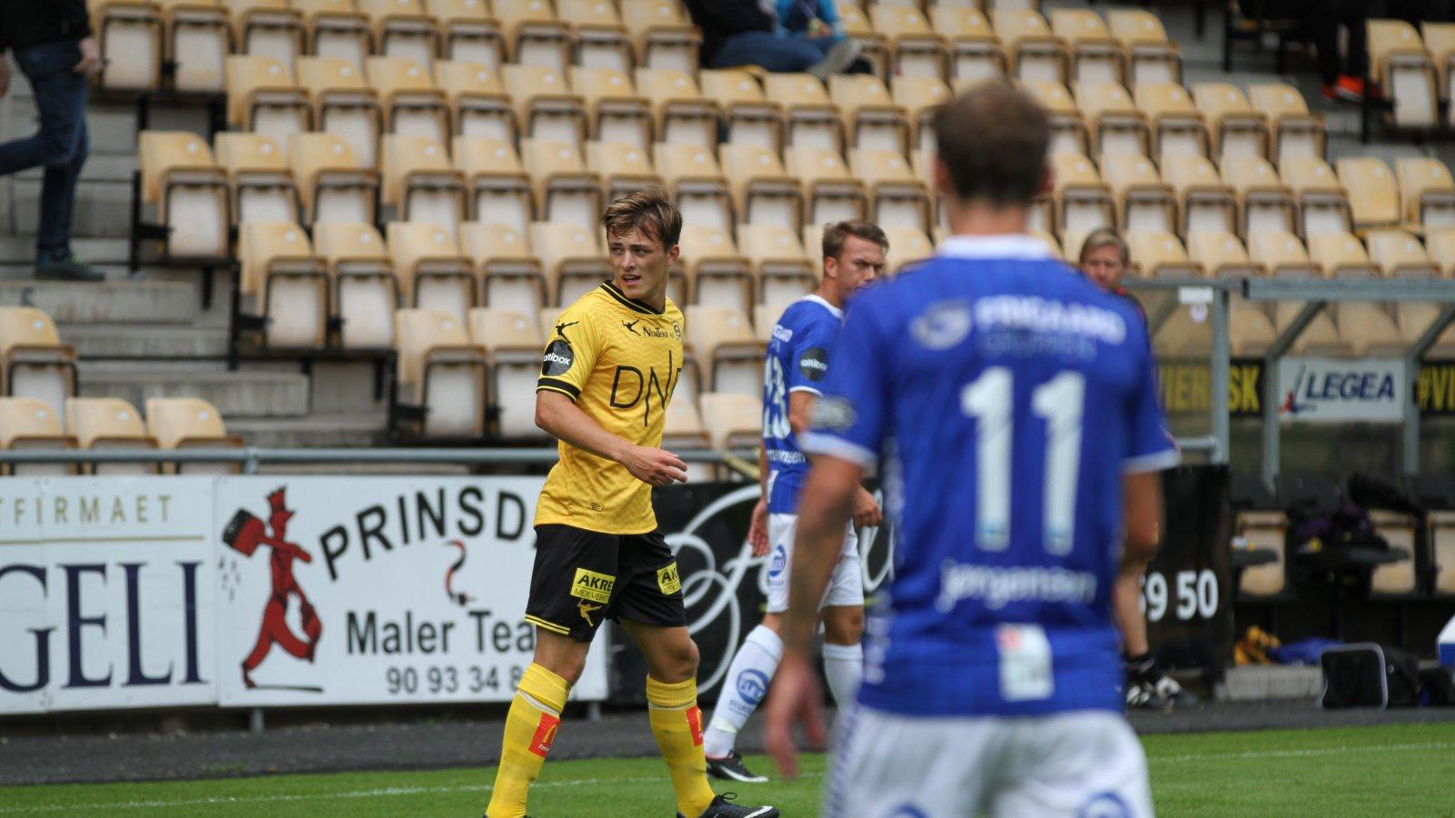Tobias Gran mot Sarpsborg