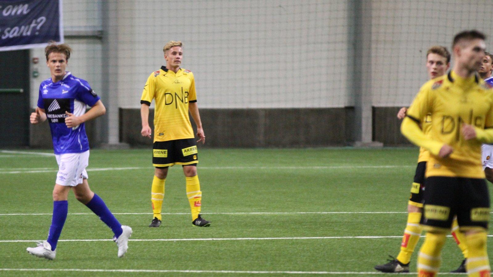 Erik Tobias Sandberg mot Start