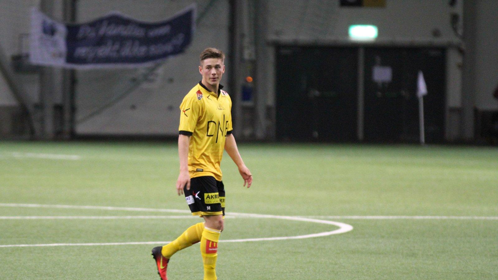 Fredrik Krogstad mot Start