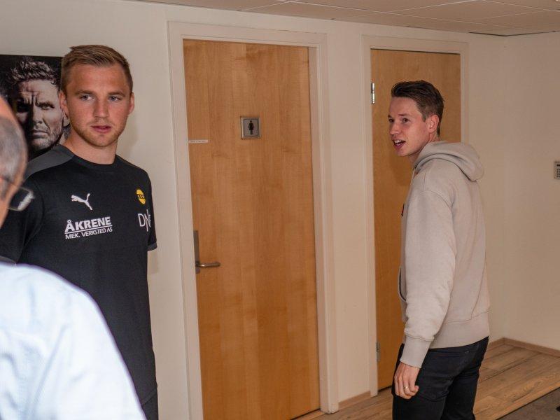 GÅR HVER SIN VEI: Espen Garnås har signert for LSK. Samtidig leies Kristoffer Ødemarksbakken (t.h) ut til Ull/Kisa.