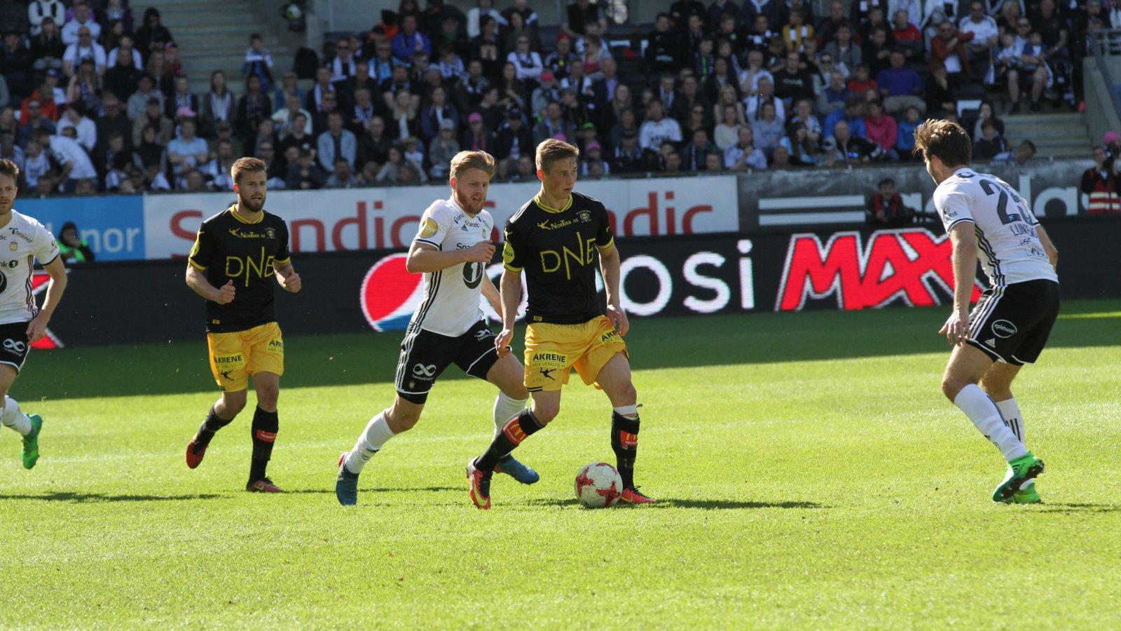 Fredrik Krogstad mot Rosenborg