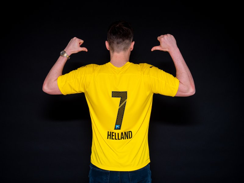 TAR 7'ERN: Pål-André Helland blir LSKs nye nummer syv. Foto: Emil Saglien Ruud