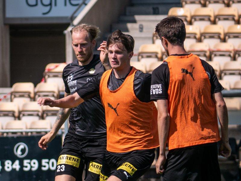 I HARD KONKURRANSE: Magnus Knudsen vil kjempe om en plass i startelleveren.<br />Alle foto: Emil Saglien Ruud.