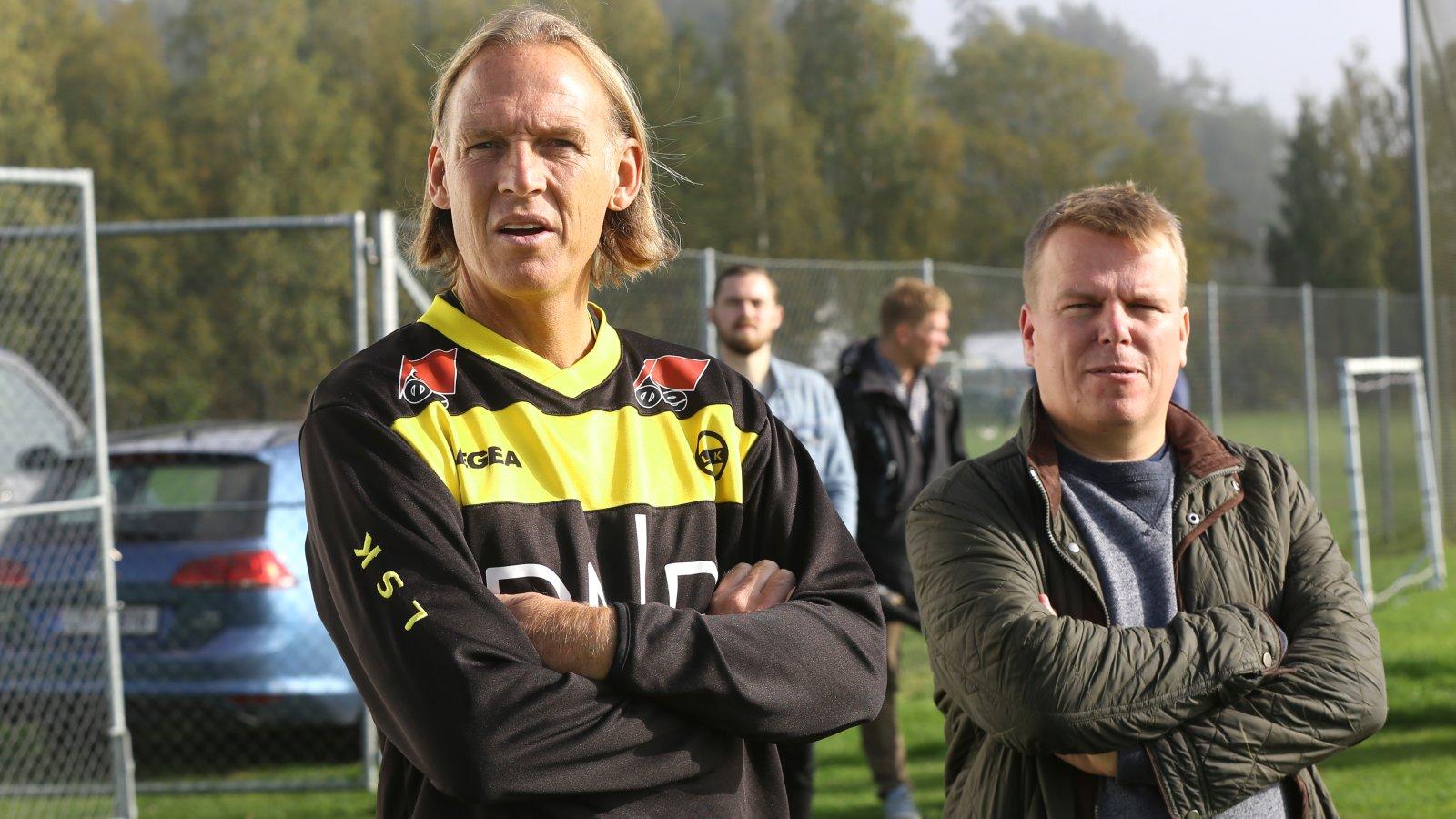 Morten Stokstad og Torgeir Bjarmann