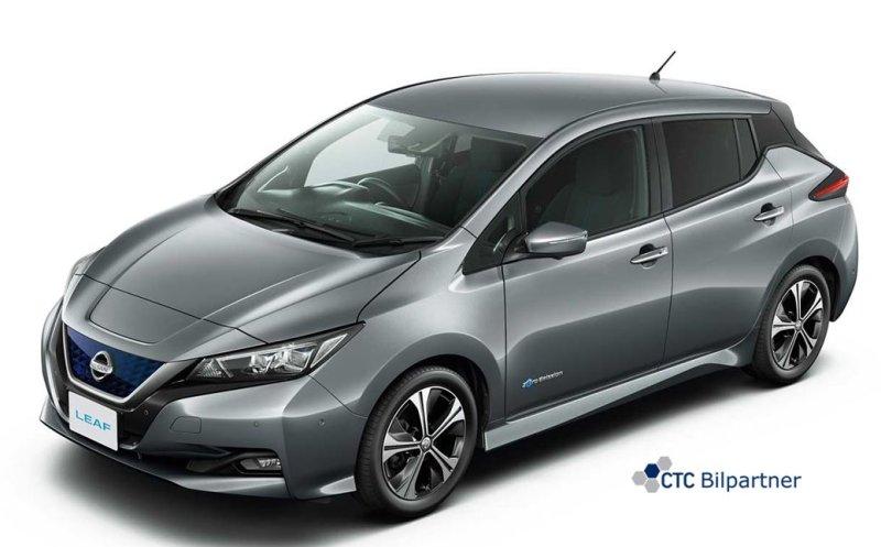 BIL FRA CTC BILPARTNER: Nissan Leaf e+ Tekna.