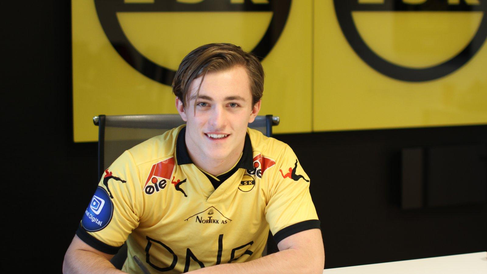 Tobias Gran (18) signerte for LSK