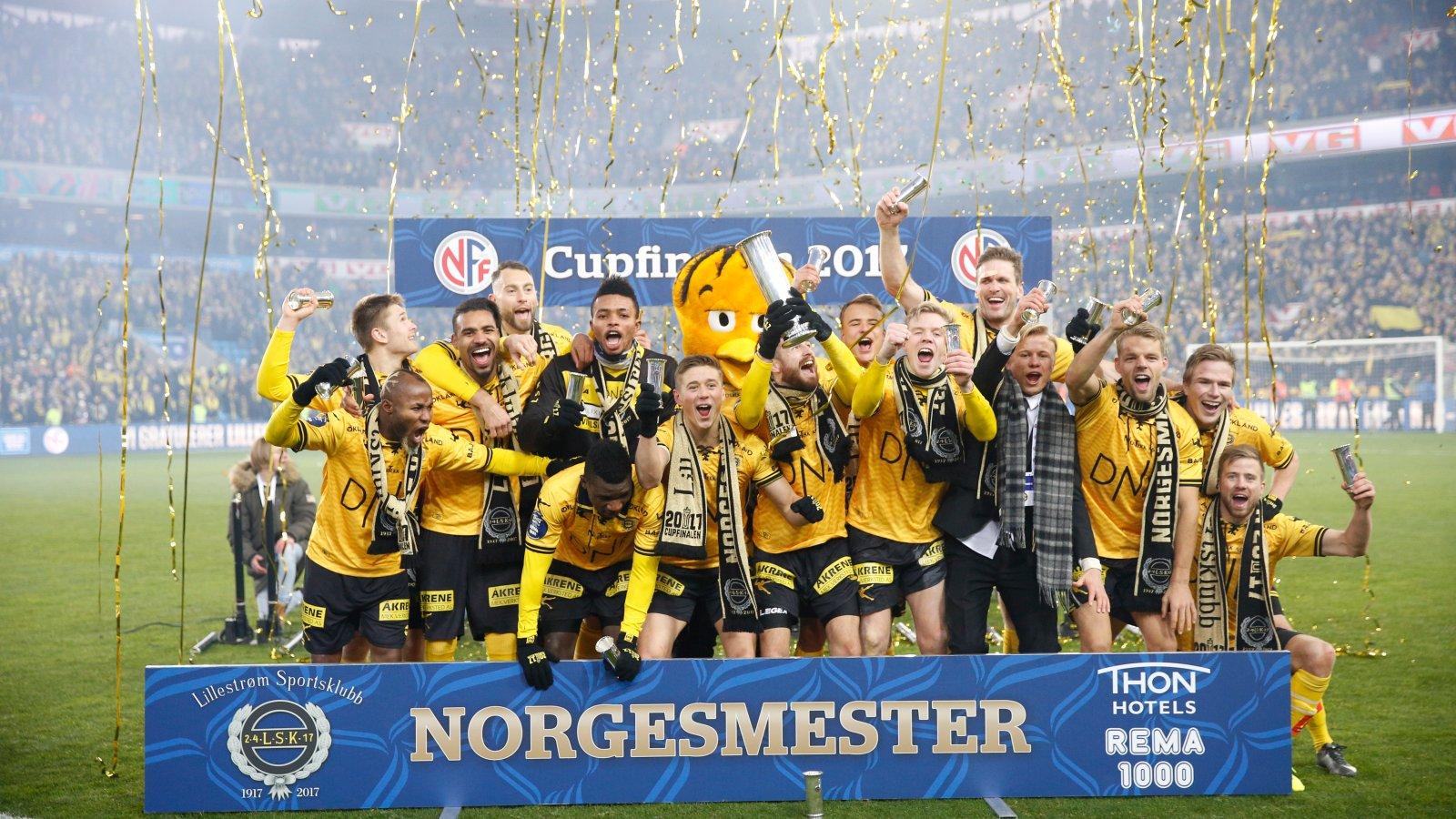 MESTERE: LSK avsluttet 2017-sesongen med å slå Sarpsborg i cupfinalen. 5. mars står det om årets første tittel når Rosenborg kommer på besøk i UNICEF Mesterfinale.